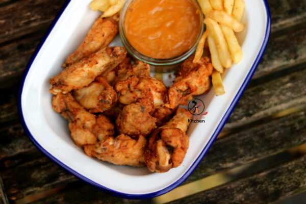 How to fry chicken wings